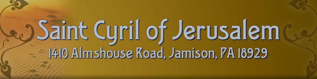 Saint Cyril of Jerusalem Parish